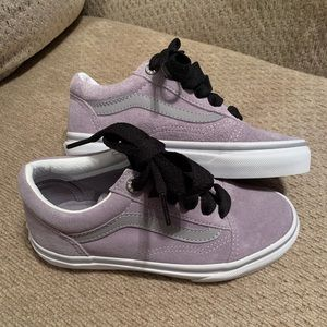 Little Girl Vans - New without Tags - Lilac Grey